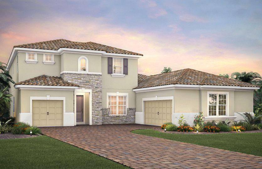 Exterior featured in the Empire By DiVosta Homes in Sarasota-Bradenton, FL
