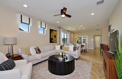 Greatroom-and-Dining-in-Serenity-at-Lakes at Waterway Village-in-Vero Beach
