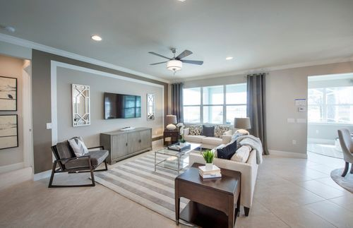 Greatroom-and-Dining-in-Abbeyville-at-Lakes at Waterway Village-in-Vero Beach