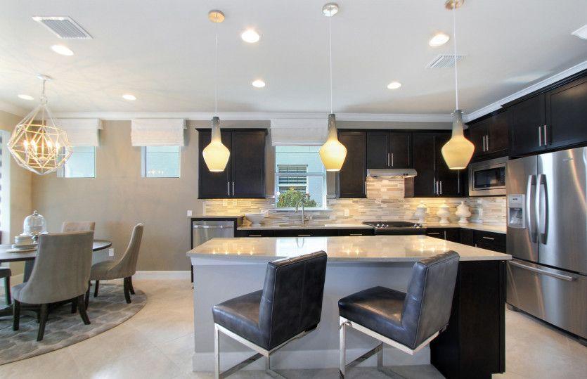 Kitchen-in-Abbeyville-at-Lakes at Waterway Village-in-Vero Beach