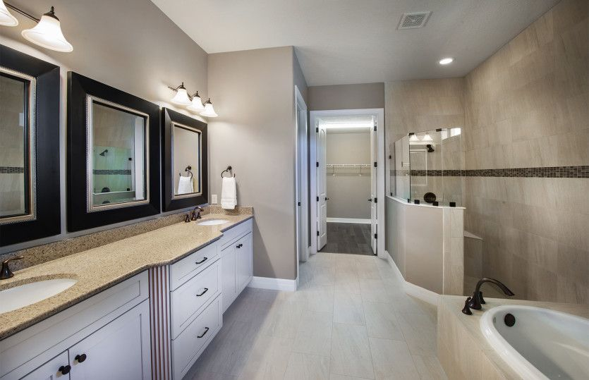 Bathroom featured in the Stonewater By DiVosta Homes in Palm Beach County, FL