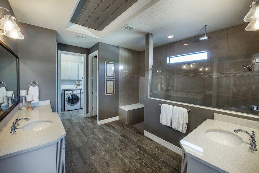 Bathroom featured in the Garden Vista By DiVosta Homes in Palm Beach County, FL