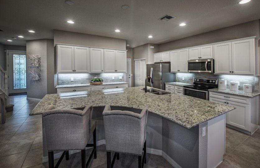Kitchen featured in the Leland By DiVosta Homes in Palm Beach County, FL
