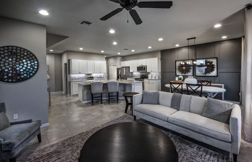 Living Area featured in the Leland By DiVosta Homes in Palm Beach County, FL