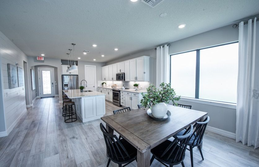 Kitchen featured in the Fox Hollow By DiVosta Homes in Palm Beach County, FL
