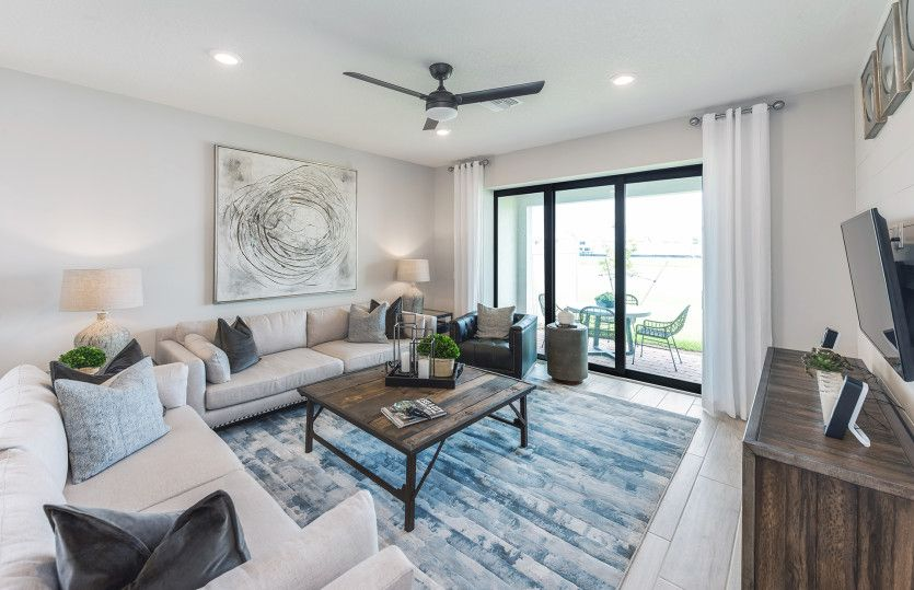 Living Area featured in the Fox Hollow By DiVosta Homes in Palm Beach County, FL