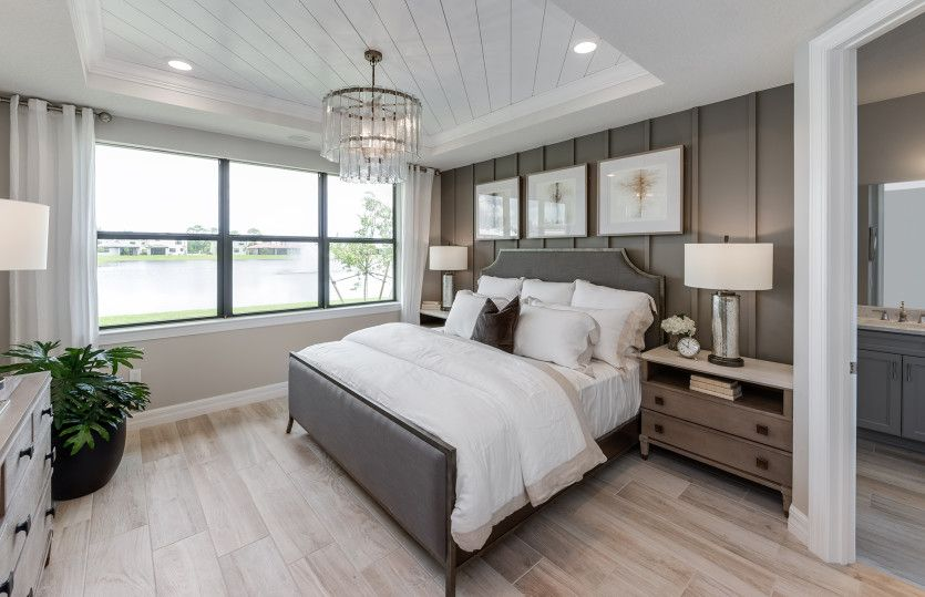 Bedroom featured in the Fox Hollow By DiVosta Homes in Palm Beach County, FL