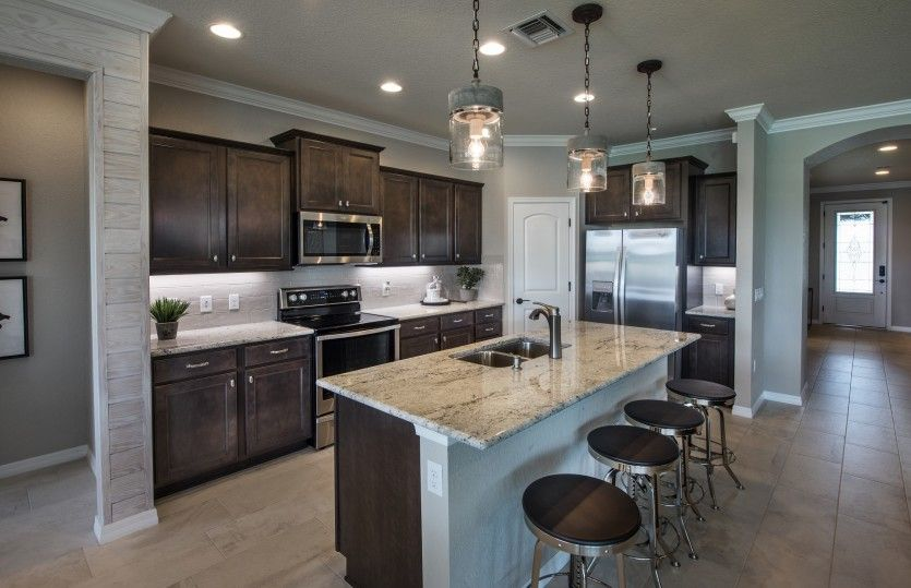 Kitchen featured in the Summerwood By DiVosta Homes in Palm Beach County, FL