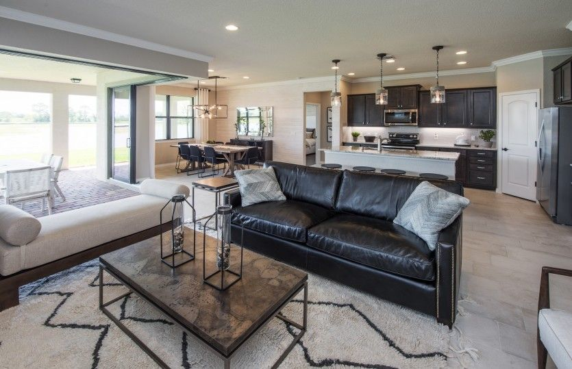Living Area featured in the Summerwood By DiVosta Homes in Palm Beach County, FL