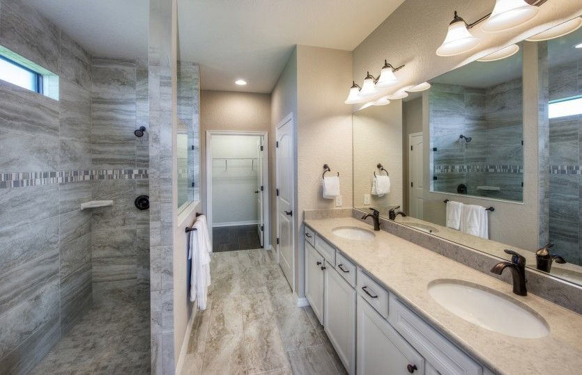 Bathroom featured in the Summerwood By DiVosta Homes in Palm Beach County, FL