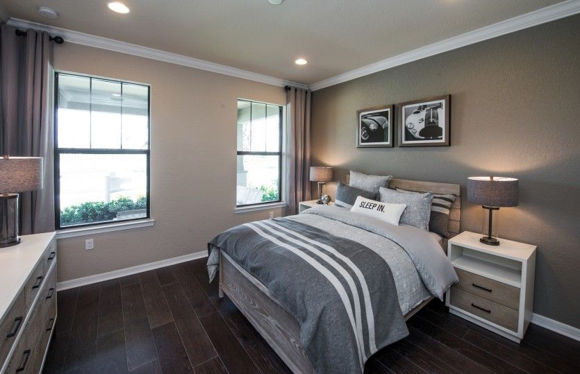Bedroom featured in the Summerwood By DiVosta Homes in Palm Beach County, FL