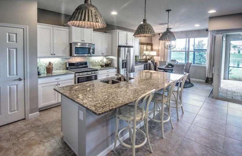 Kitchen featured in the Pompeii By DiVosta Homes in Palm Beach County, FL