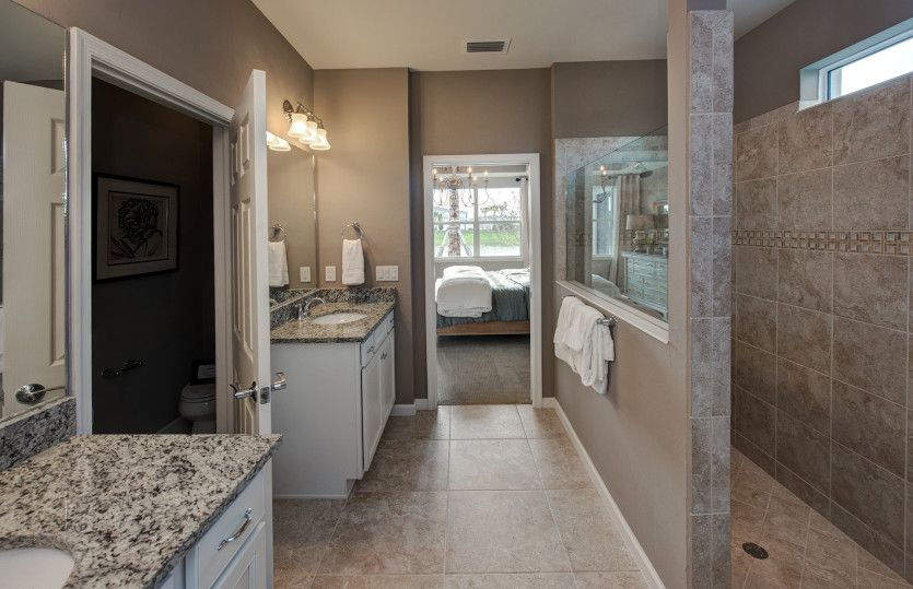 Bathroom featured in the Pompeii By DiVosta Homes in Palm Beach County, FL