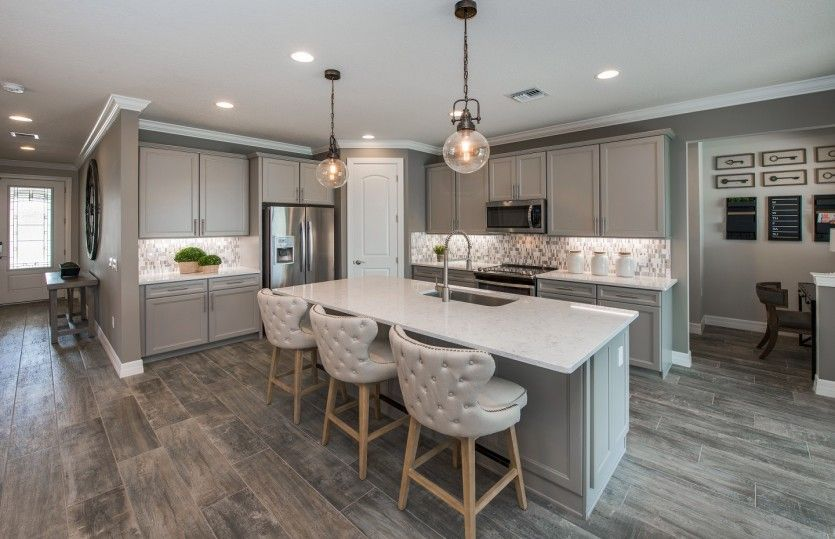 Kitchen featured in the Fifth Avenue By DiVosta Homes in Palm Beach County, FL