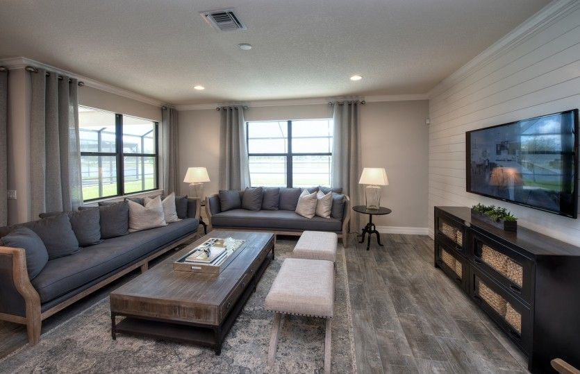 Living Area featured in the Fifth Avenue By DiVosta Homes in Palm Beach County, FL