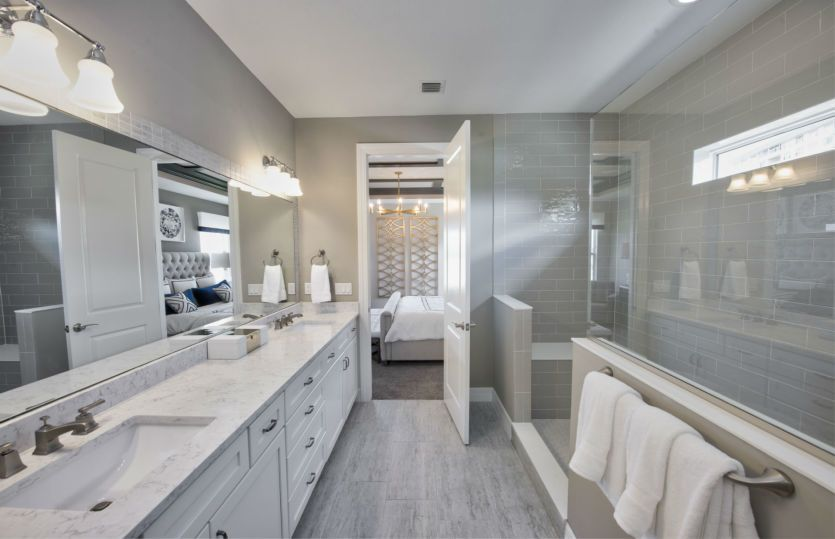Bathroom featured in the Riverwalk By DiVosta Homes in Palm Beach County, FL