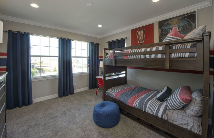 Bedroom featured in the Riverwalk By DiVosta Homes in Palm Beach County, FL