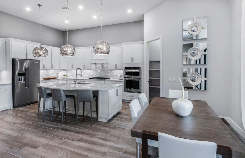 Kitchen featured in the Stonewater By DiVosta Homes in Palm Beach County, FL