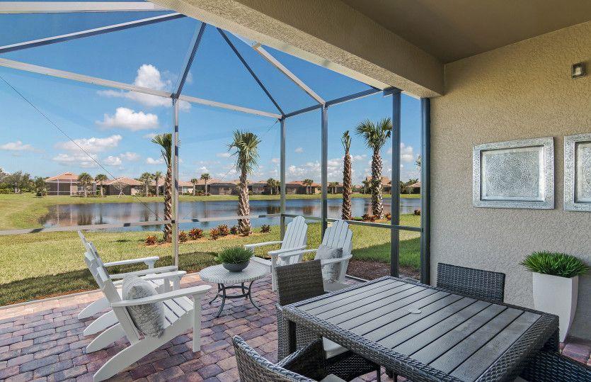 Exterior featured in the Cascadia Duplex By DiVosta Homes in Sarasota-Bradenton, FL