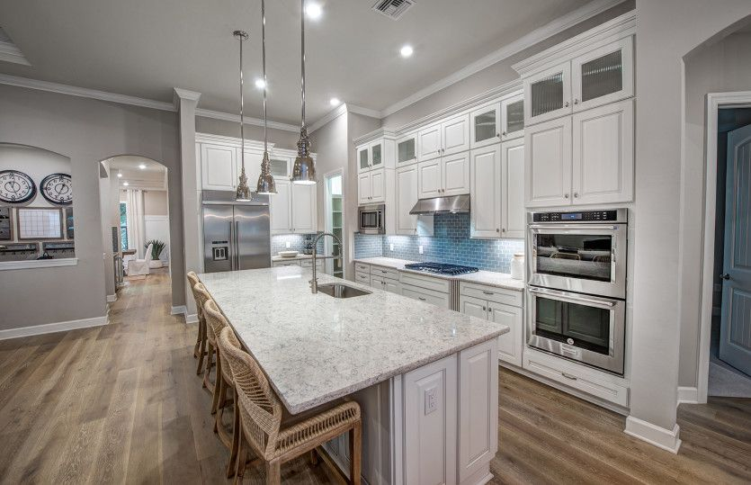 Kitchen featured in the Camelot By DiVosta Homes in Palm Beach County, FL