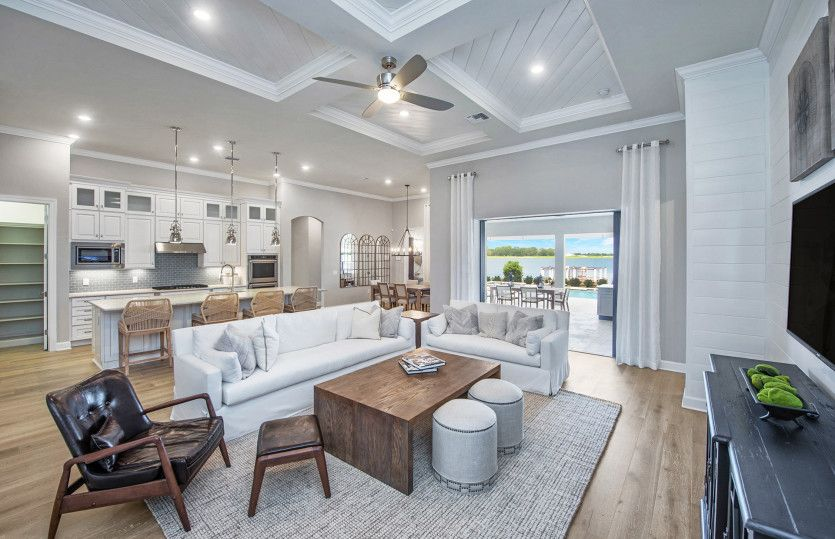 Living Area featured in the Camelot By DiVosta Homes in Palm Beach County, FL