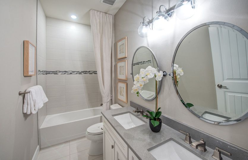 Bathroom featured in the Camelot By DiVosta Homes in Palm Beach County, FL
