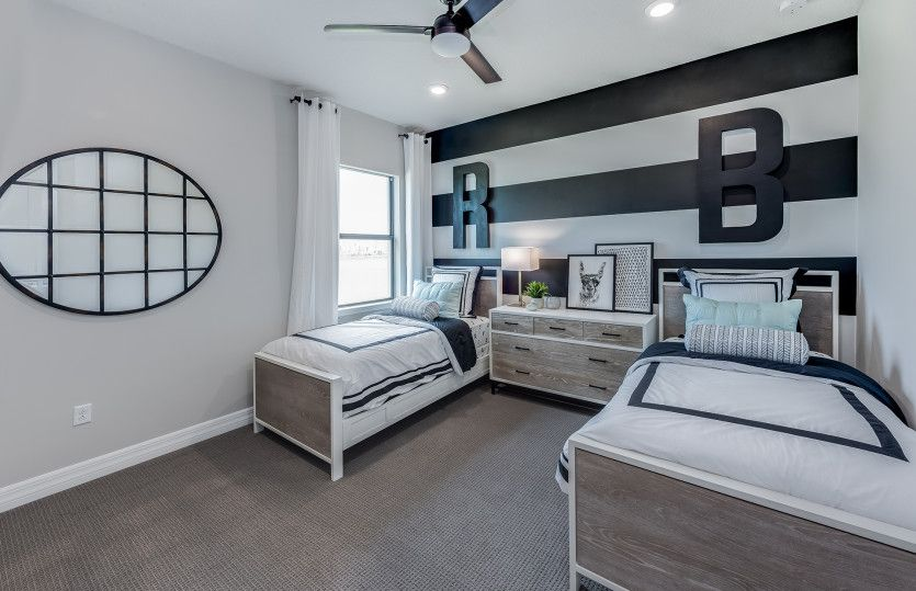 Bedroom featured in the Stonewater By DiVosta Homes in Palm Beach County, FL