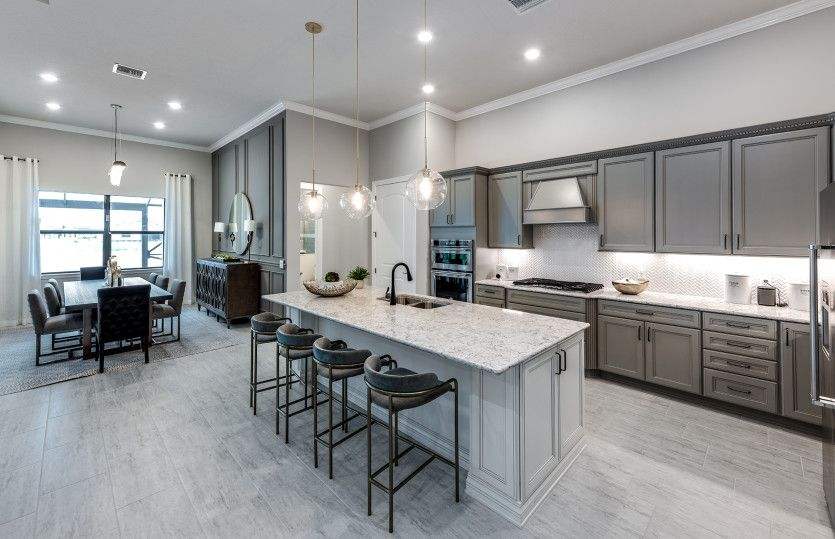 Kitchen featured in the Clubview By DiVosta Homes in Palm Beach County, FL