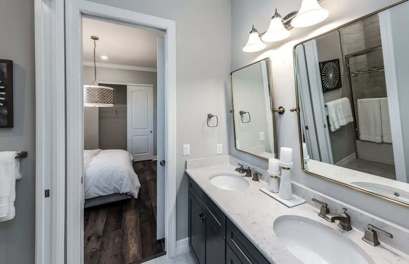 Bathroom featured in the Clubview By DiVosta Homes in Palm Beach County, FL