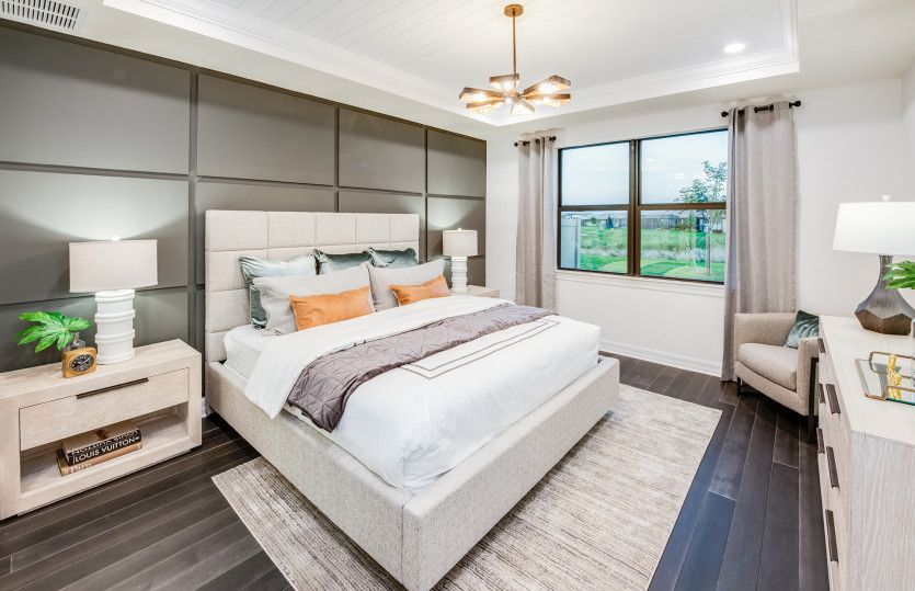 Bedroom featured in the Citrus Grove By DiVosta Homes in Palm Beach County, FL