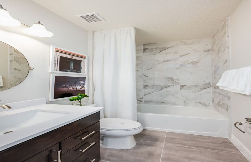 Bathroom featured in the Citrus Grove By DiVosta Homes in Palm Beach County, FL