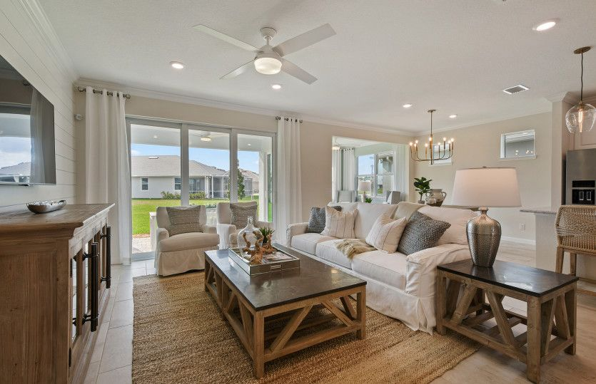 Living Area featured in the Prosperity By DiVosta Homes in Indian River County, FL