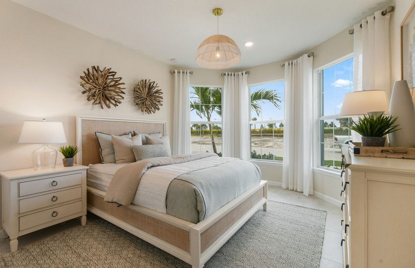 Bedroom featured in the Prosperity By DiVosta Homes in Indian River County, FL