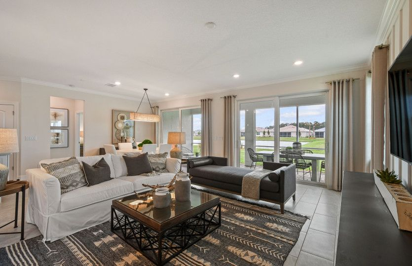 Living Area featured in the Mystique By DiVosta Homes in Indian River County, FL