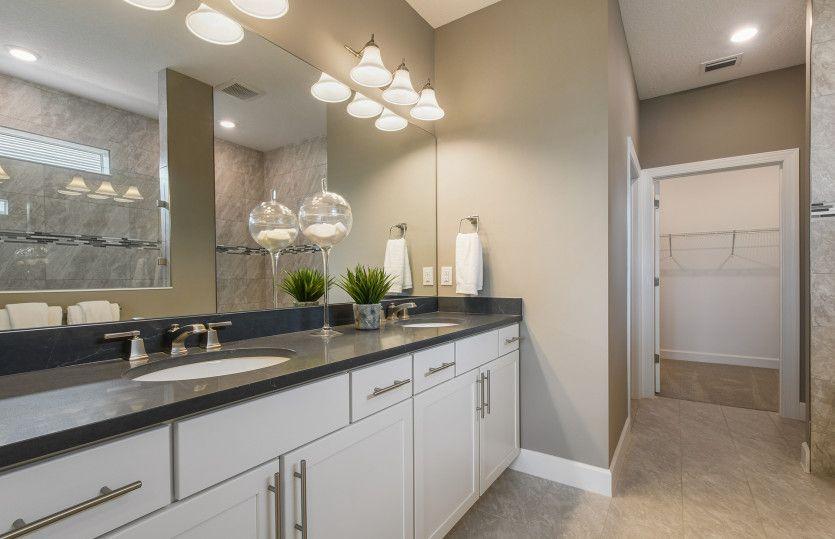 Bathroom featured in the Mystique By DiVosta Homes in Indian River County, FL