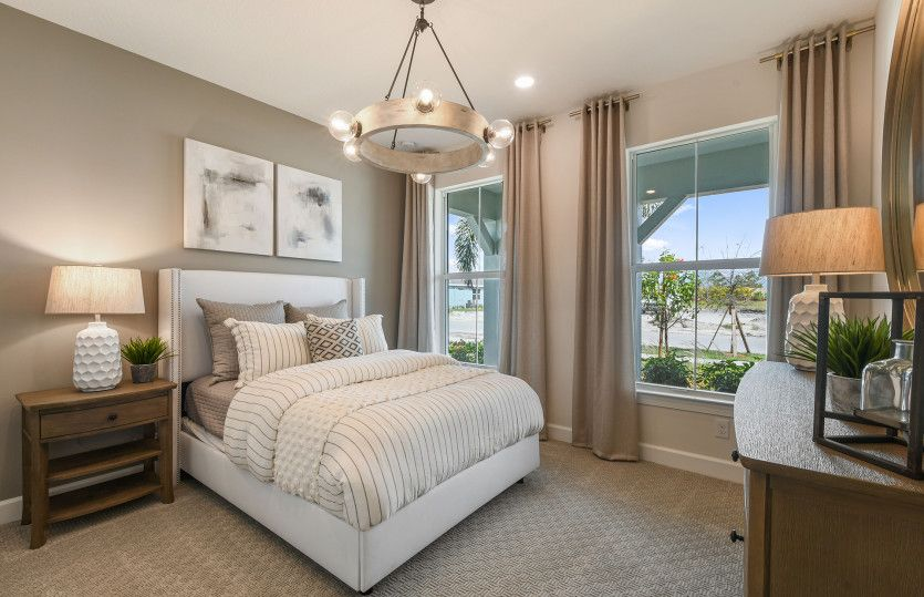 Bedroom featured in the Mystique By DiVosta Homes in Indian River County, FL