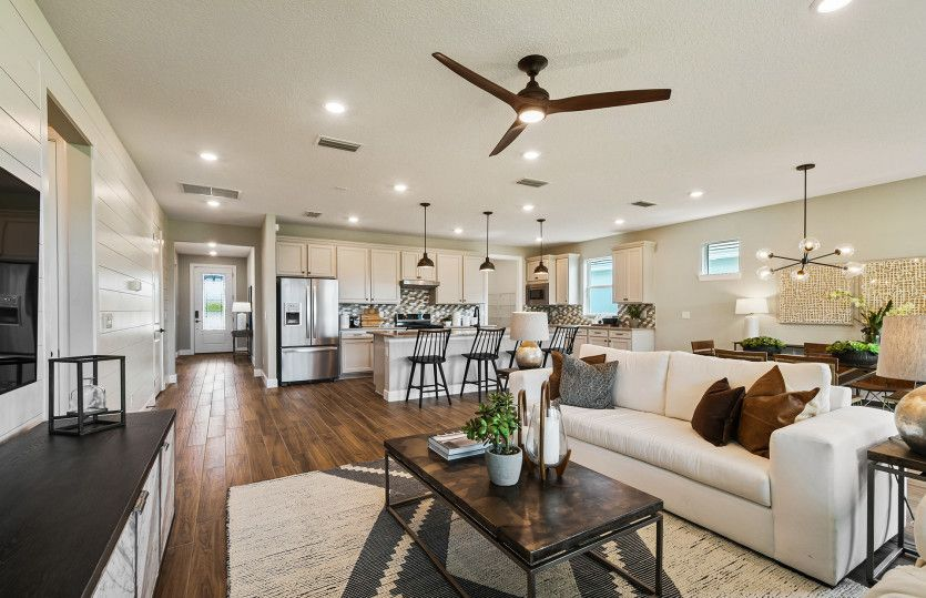Living Area featured in the Palmary By DiVosta Homes in Indian River County, FL