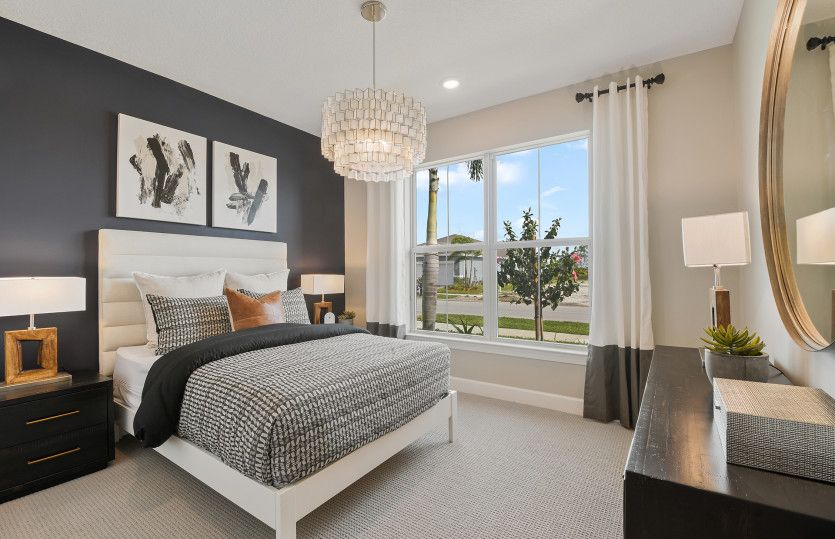 Bedroom featured in the Palmary By DiVosta Homes in Indian River County, FL