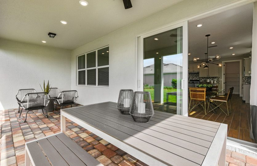Exterior featured in the Palmary By DiVosta Homes in Indian River County, FL