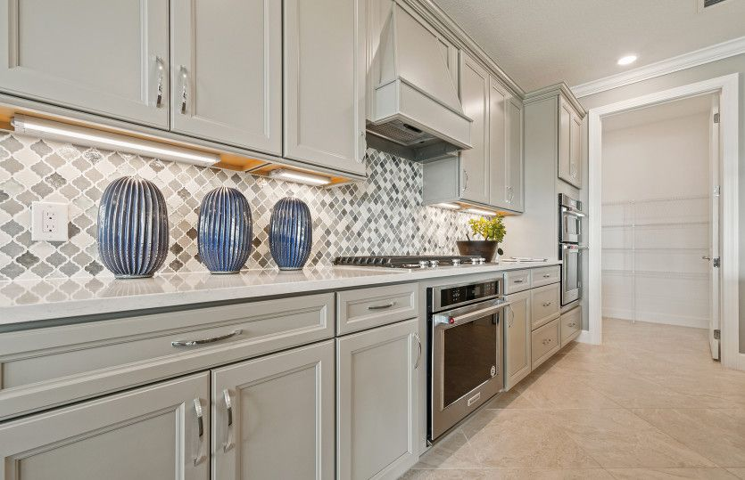 Kitchen featured in the Stellar By DiVosta Homes in Indian River County, FL