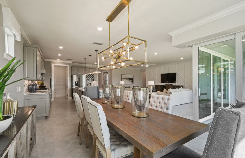 Living Area featured in the Stellar By DiVosta Homes in Indian River County, FL