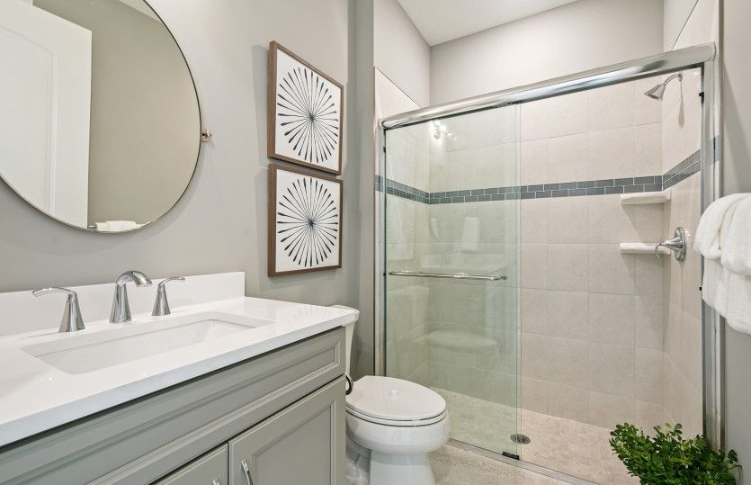 Bathroom featured in the Stellar By DiVosta Homes in Indian River County, FL