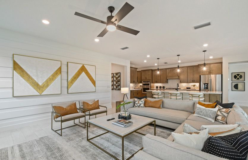 Living Area featured in the Renown By DiVosta Homes in Indian River County, FL