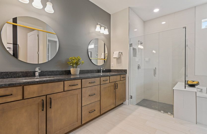 Bathroom featured in the Renown By DiVosta Homes in Indian River County, FL