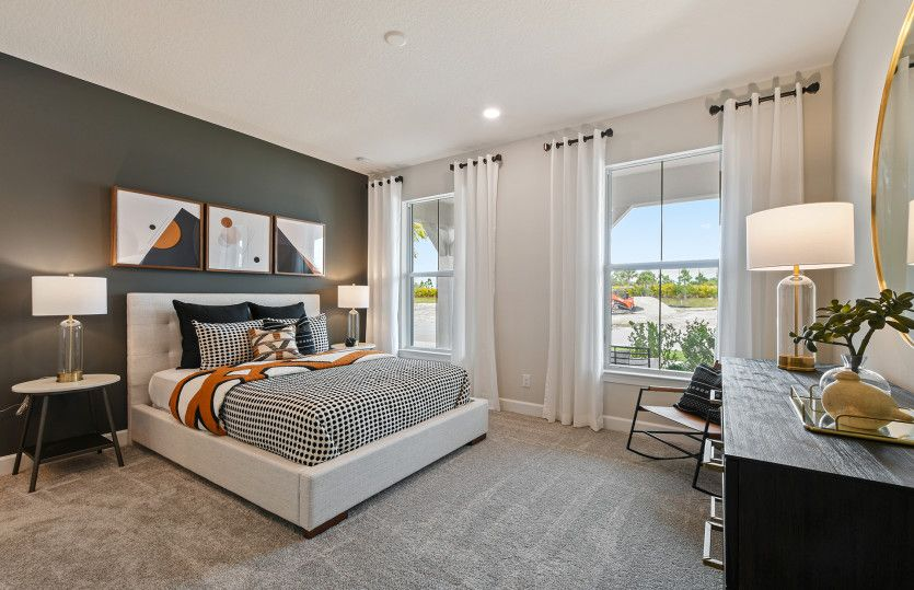 Bedroom featured in the Renown By DiVosta Homes in Indian River County, FL