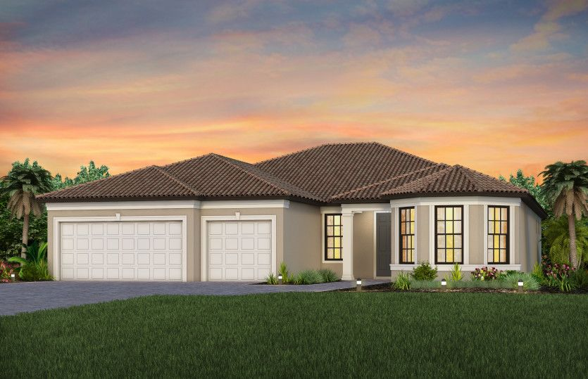 Exterior featured in the Stellar By DiVosta Homes in Indian River County, FL