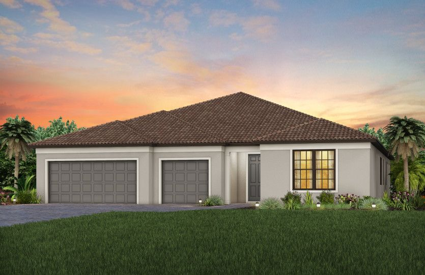Exterior featured in the Renown By DiVosta Homes in Indian River County, FL