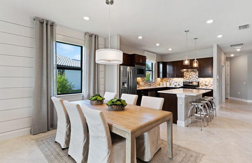 Kitchen featured in the Contour By DiVosta Homes in Sarasota-Bradenton, FL