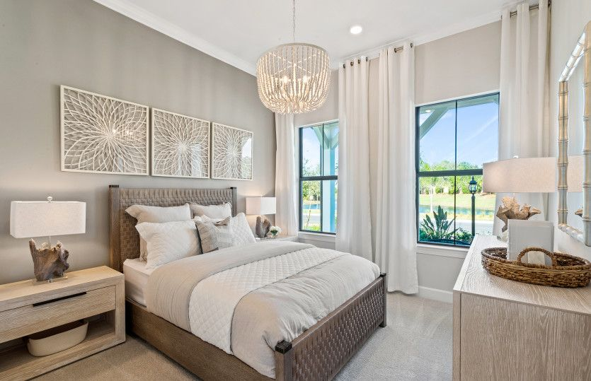 Bedroom featured in the Prestige By DiVosta Homes in Sarasota-Bradenton, FL