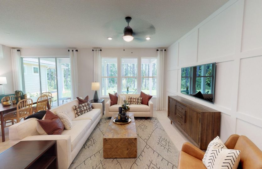 Living Area featured in the Prosperity By DiVosta Homes in Sarasota-Bradenton, FL